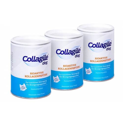 Collagile® dog 225g - 3er Pack